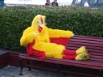 Funkey Chicken on Pier 39
